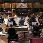 O21 rehearsal with Rachael Beesley